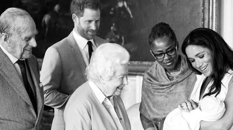 The world was patiently waiting to see Baby Sussex and guessing what the Duke and Duchess of Sussex would finally decide to call their baby boy. (Photo: Instagram/sussexroyal)