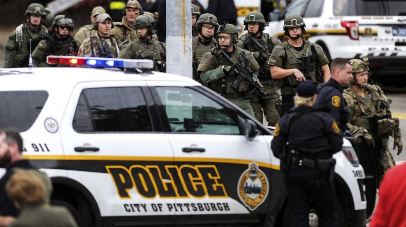Accused Pittsburgh shooter to face 29 criminal counts in court Monday