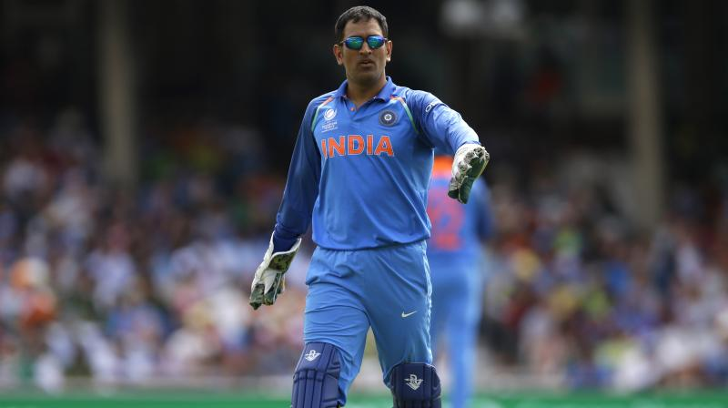 Remarkably, after having handing over the baton, MS Dhoni still has the pride and passion to be the driving force of the fielding team when he is there behind the stumps and seeing everything from a vantage viewpoint. (Photo: AP)