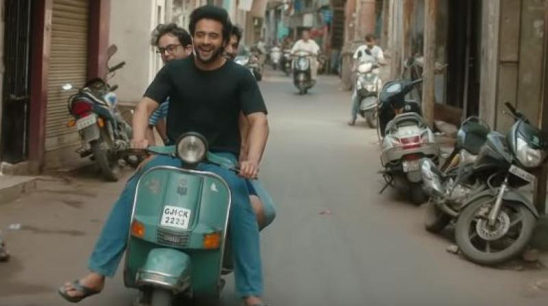 Jackky Bhagnani in a still from Mitron.