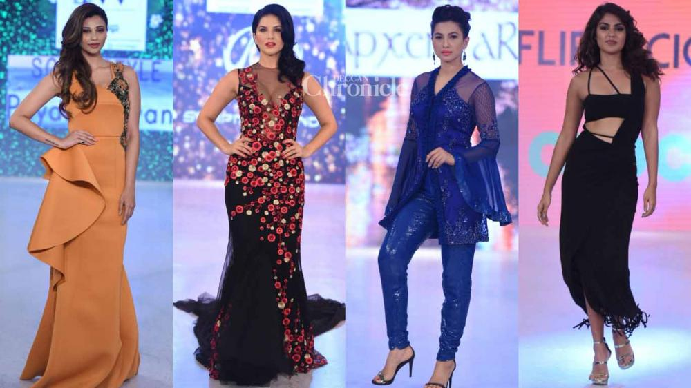 4ea2b55f93 Numerous celebrities from B-Town walked the ramp at the India Beach Fashion  Week held
