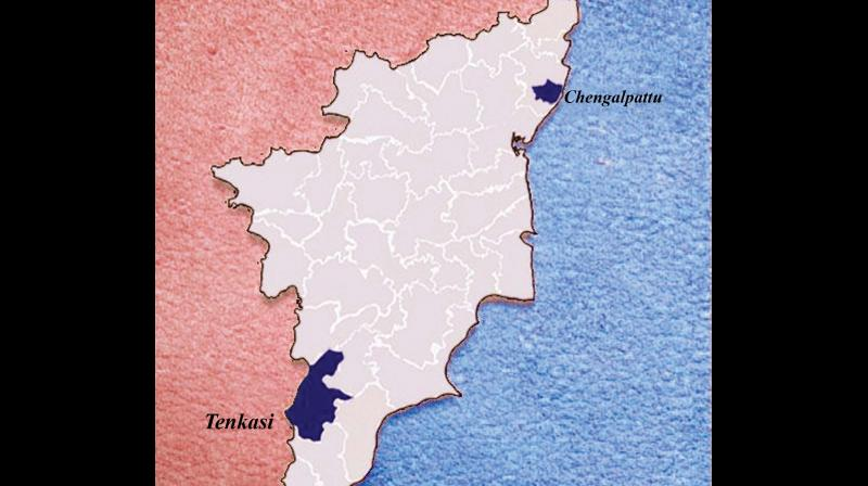 Districts in TN up to 35 : Tenkasi, Chengalpet to emerge as