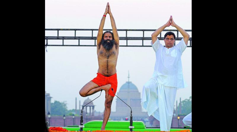 One leading international paper attacked Baba Ramdev, suggesting that the Indian origin of yoga is a myth that was created in the last century and that Hindu nationalists like Baba Ramdev are exploiting it to serve their political agenda.
