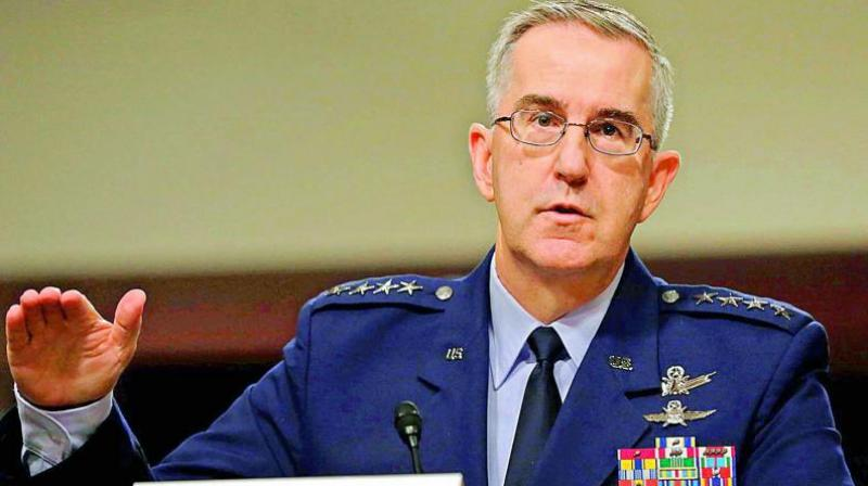 """It's here that the words of USAF Gen. John Hyten, head of Strategic Command, which oversees the nuclear arsenal and carries the nuclear """"football"""" for the US President, comes as a balm for the world, that hasn't seen a nuclear strike since 1945."""