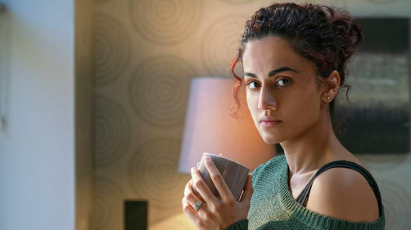 Taapsee Pannu's still from Badla.