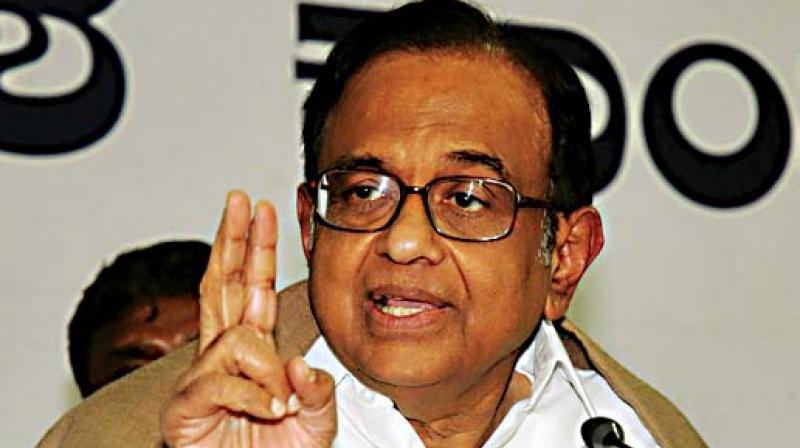 Senior Congress leader P Chidambaram on Thursday demanded publication of all documents related to the Rafale aircraft deal, saying Article 19 of the Constitution ensured people's rights regarding freedom of speech and expression. (Photo: File)