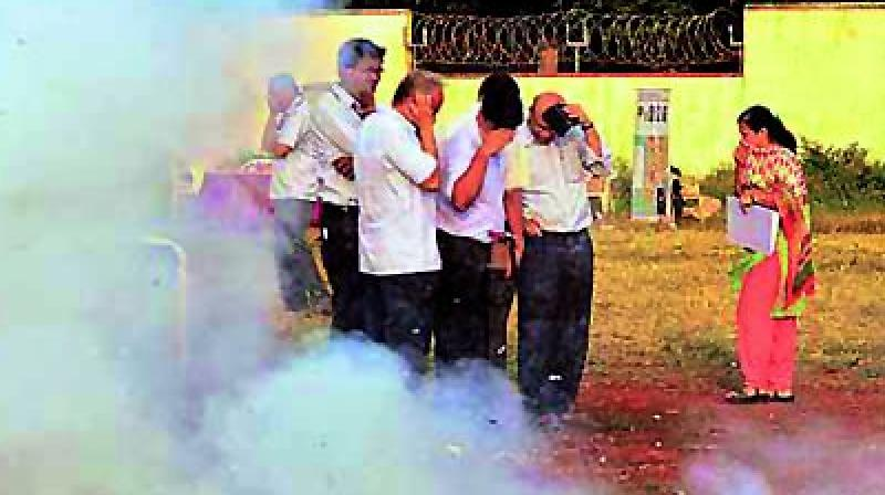 "The SC had last year said people can burst firecrackers only from 8 pm to  10 pm on Diwali and other festivals, and had allowed the  sale of only ""green crackers""."