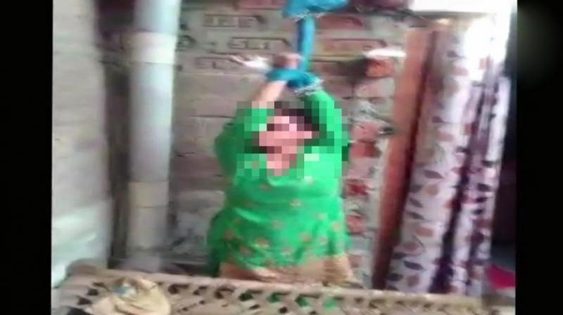 Man hangs wife from ceiling, tortures her, make video for dowry demands