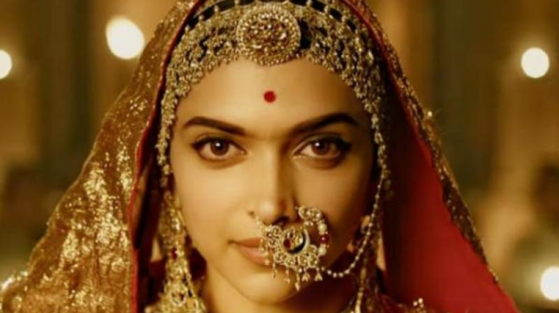 Deepika Padukone plays the lead character in 'Padmaavat.'