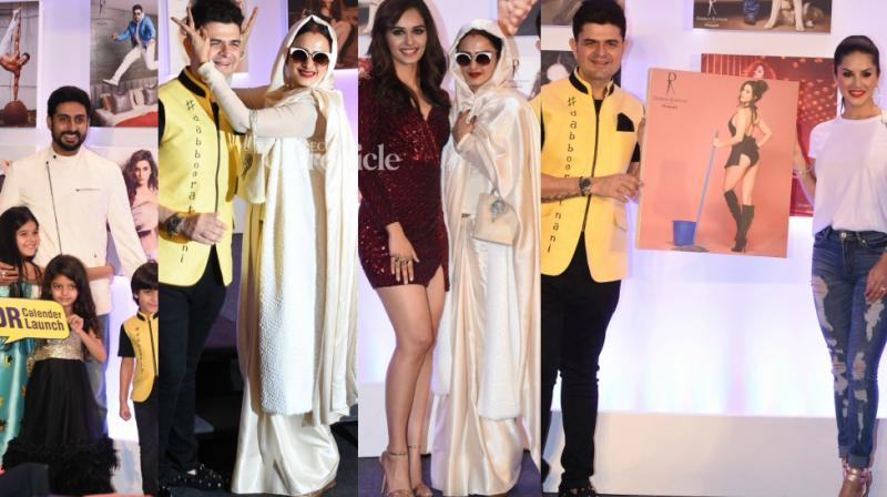 The 2018 calendar launch of celebrity photographer Dabboo Ratnani was held in the presence of several stars in Mumbai on Wednesday. (Photo: Viral Bhayani)