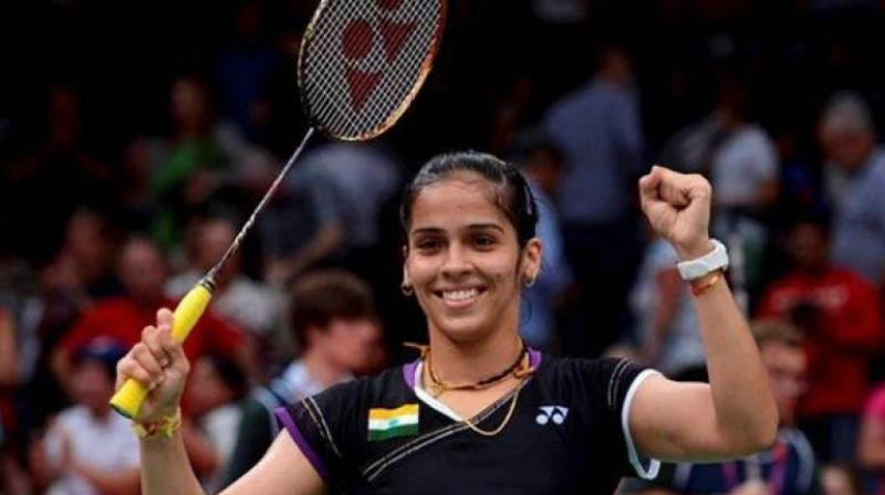 Saina and Sindhu played out edge of the seat match but it was Saina, who prevailed in thee end and won the gold .(Photo: DC File)