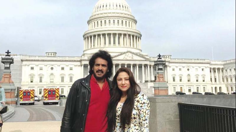 Upendra and Priyanka Upendra