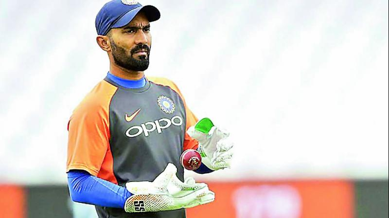 The BCCI got a screen grab of Karthik, who played 26 Tests, 94 ODIs and 32 T20Is for India, seen wearing Trinbago Knight Riders jersey and relaxing in the dressing room along side Brendon McCullum. (Photo: File)