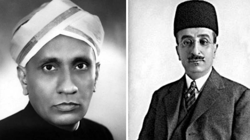 Sir Raman has clarified that he was not sent out of Mysore, but came from Calcutta to Bangalore in 1933, and received support from the Dewan for his scientific work.