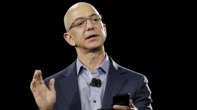 Amazon CEO Jeff Bezos wants to colonise Moon. (Photo: AP)