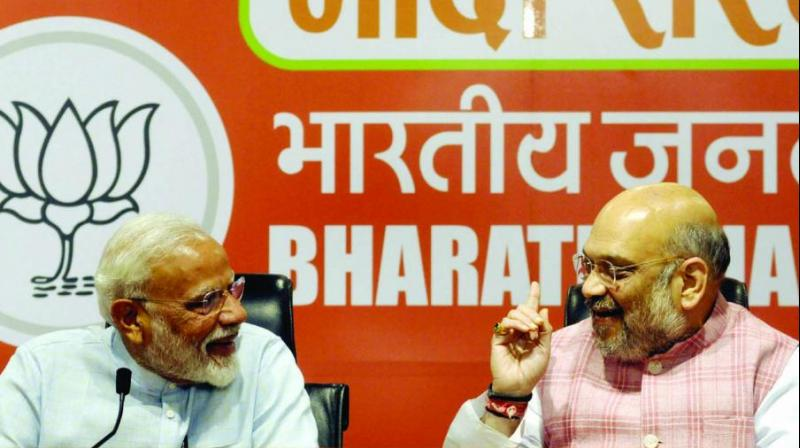 The saffron party did not give up their existing allies which helped BJP to retain its pan-India image. (Photo: File)