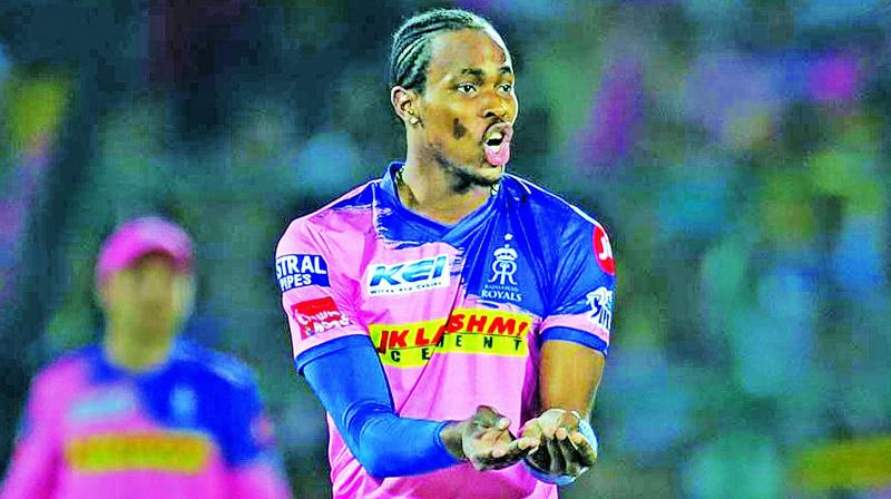 Pacer Jofra Archer has been consistent  performer for RR.