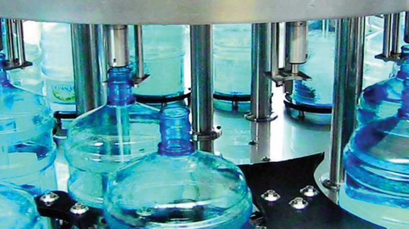 Packaged water is transported in bubble top containers and the Food Safety and Standards Authority of India has been asked to conduct regular inspections to ensure the quality of this water.  — Dr Jayashree, District Med Officer