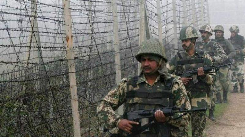 Officer, three soldiers killed in Pakistan firing on LoC (Third Lead)