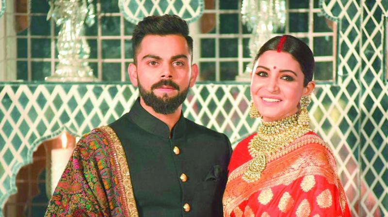 Anushka Sharma And Virat Kohli Wish Each Other Happy First