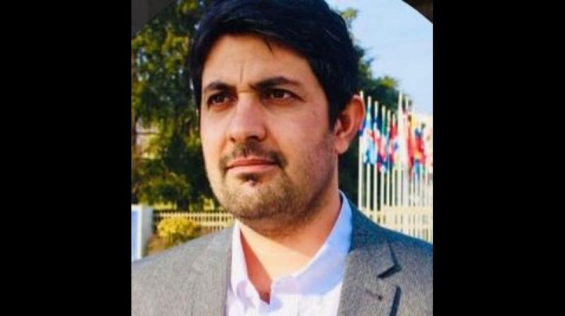"'Over 20,000 Baloch people have been abducted by Pakistani security forces and many killed in the last two decades. Our message to the Indian government is that they have to raise their voice against the atrocities by the Pakistani security forces,"" said Hammal Haider, foreign affairs spokesperson of the Baloch National Movement. (Photo: Twitter 