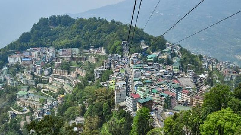 Gangtok city. (Photo: Pixabay)