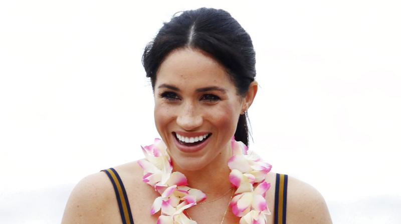Meghan is in 'good health' and has already had a successful 12 week scan. (Photo: AP)