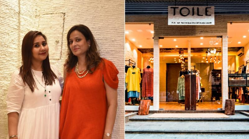 Founders  Farheen Rahman and Priti Jain say eco fashion is a lifestyle not only limited to clothing.