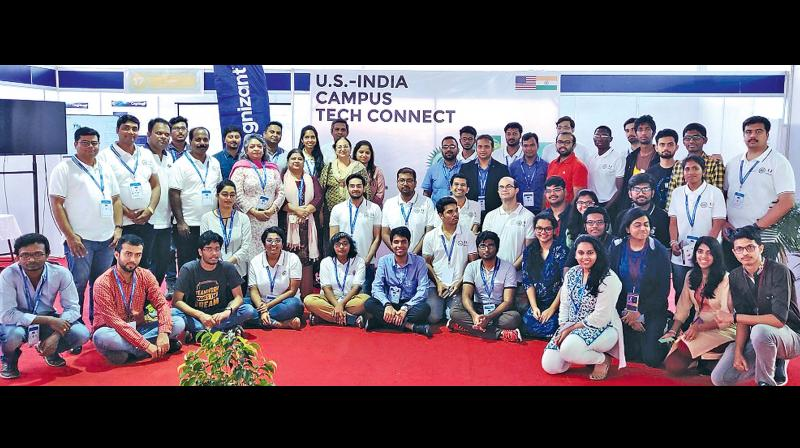 Partcipants of the US-India Campus Tech Connect.