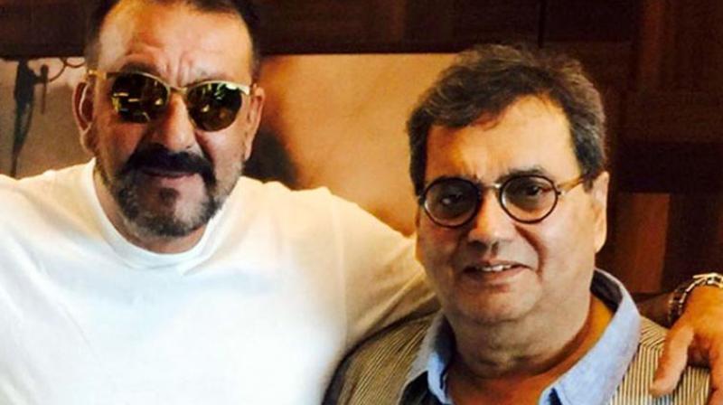 Subhash Ghai and Sanjay Dutt.
