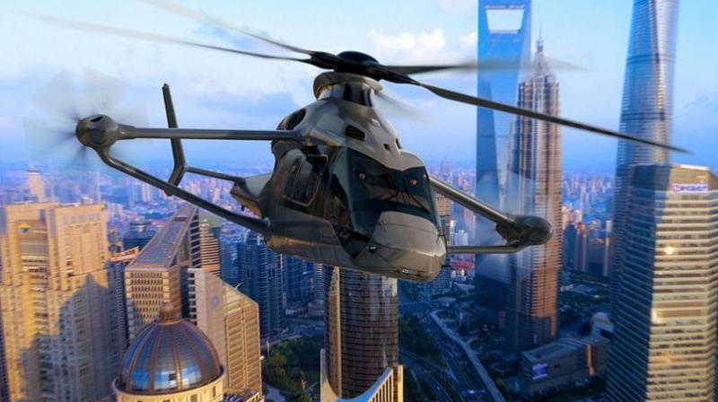 The Racer rotorcraft is supposed to be fuel efficient and cheaper to operate on a daily basis compared to a conventional helicopter.
