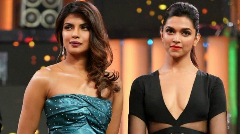 Priyanka Chopra and Deepika Padukone.