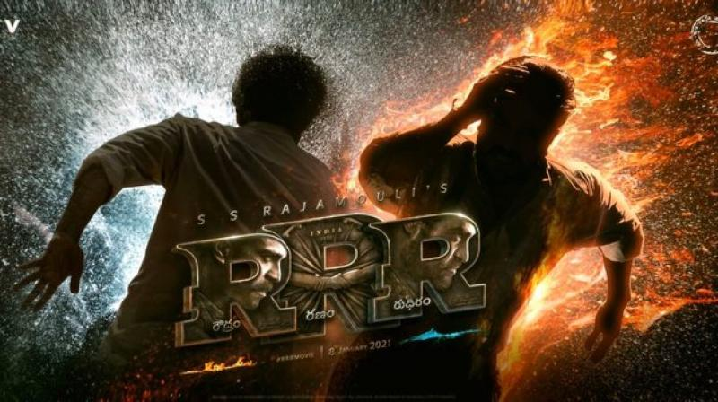 Rajamouli's 'RRR' motion poster is out