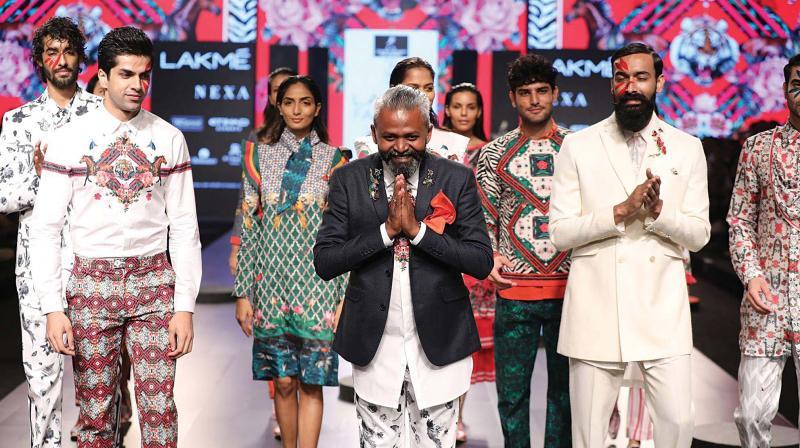 Ajay Kumar with models