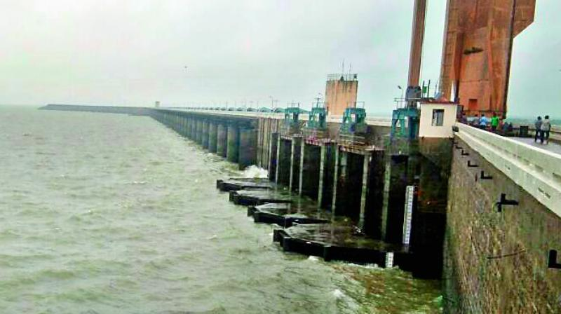 The government's green panel has given the environment clearance (EC) for constructing a dam across Godavari river in Jayashankar Bhupalapally district of Telangana at a cost of Rs 2,121 crore, according to sources. (Representational Image)