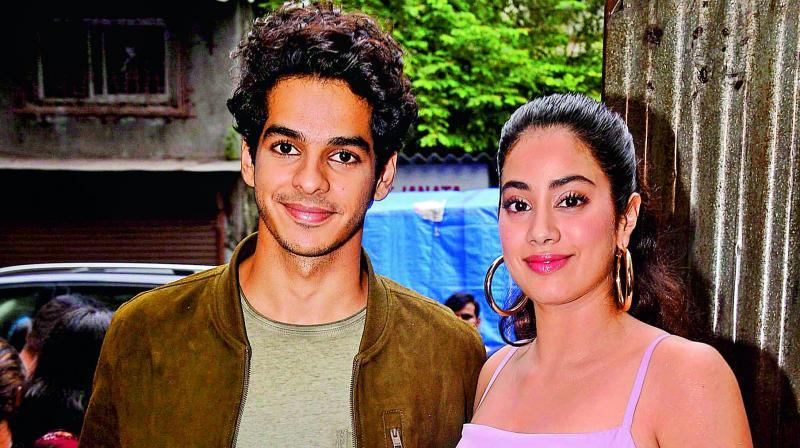 Karan Johar to reunite Janhvi Kapoor-Ishaan Khatter?