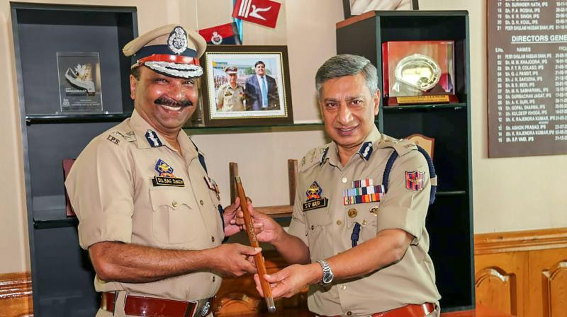 Singh, the IPS officer of 1987 batch, who is serving as the DG prisons for past several months has been given additional charge as the DGP of J&K. He took over as the new police chief on Friday. (Photo: PTI)