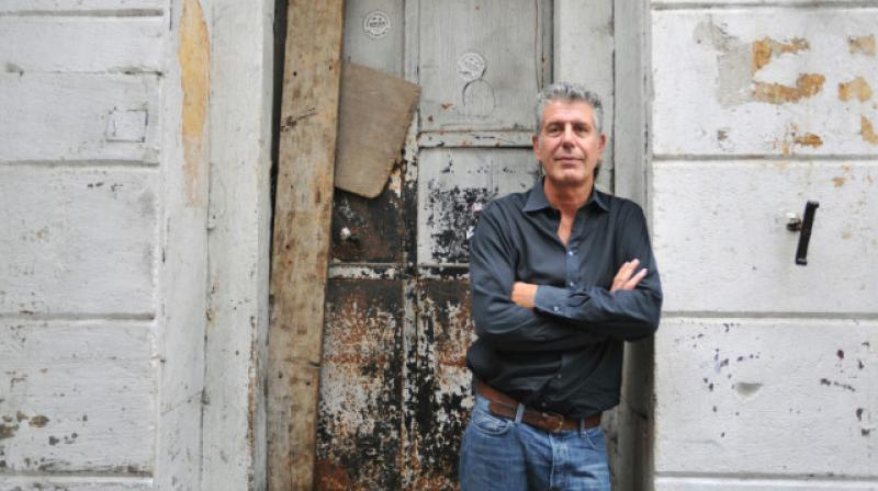 "Bourdain was in Strasbourg filming an upcoming segment in his series ""Parts Unknown"" (Photo: AFP)"