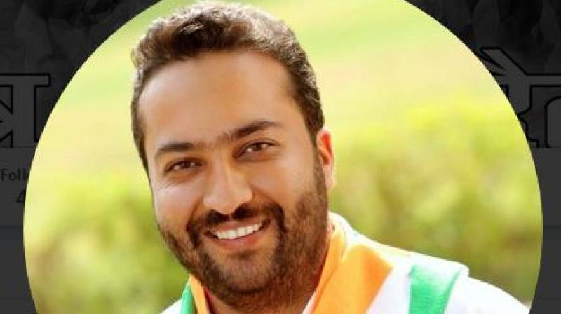 Fairoz Khan, who is from Jammu and Kashmir, submitted his resignation on Monday. (Photo: Twitter | @Fairoz_JK)