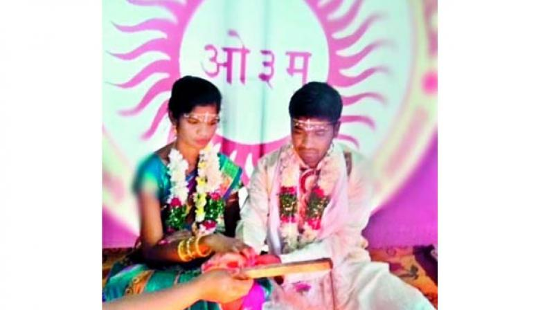 Anuradha and Laxman got married in an Arya Samaj ceremony in Hyderabad on December 3.