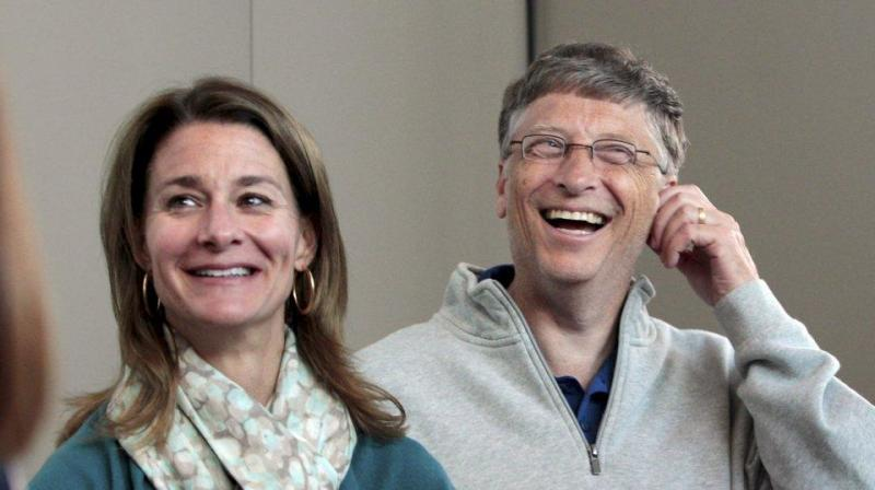 'One of the most profound ways a woman can make life better for herself and her family is to take control of her economic future,' said Melinda Gates, co-chair of the Bill & Melinda Gates Foundation. (Photo: AP)