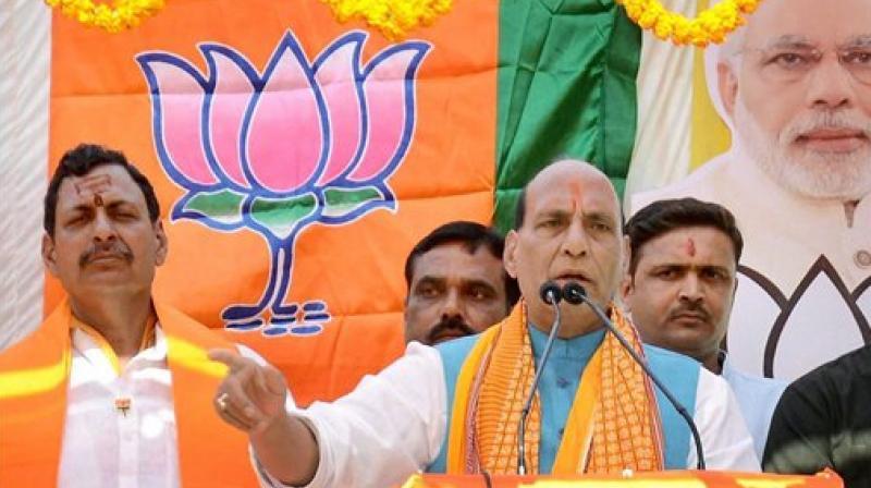 Union Home Minister and senior BJP leader Rajnath Singh. (Photo: PTI)
