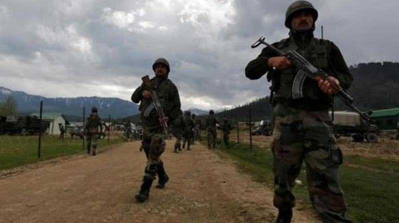 Claiming this, the police and Army officials said that the fighting between holed up militants and the security forces broke out after the later laid siege to Nazneen Pora village of Tral on receiving inputs about the presence of militants. (Representational Image)