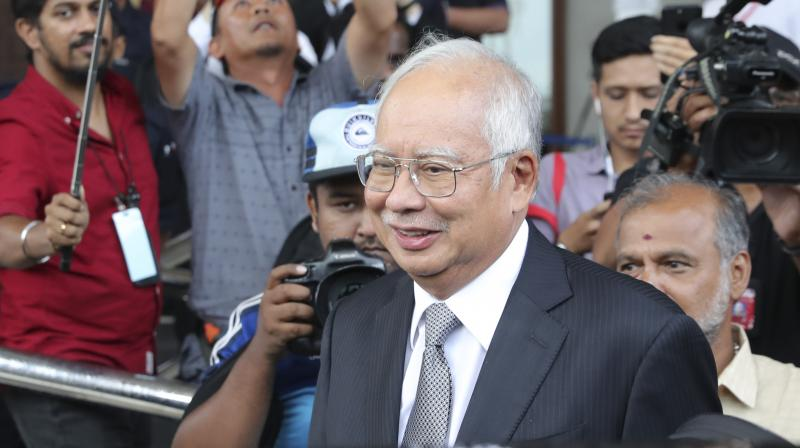 The ex-prime minister and his cronies are accused of stealing billions of dollars from 1MDB. (Photo:AP)