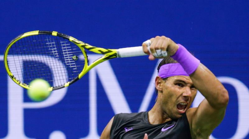 The second set was easily won by Nadal 6-2 and much did not change in the third set as Nadal sealed the game 6-3, 6-2, 6-2. (Photo: AFP)