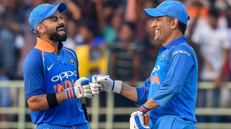 Image result for Virat Kohli Needs MS Dhoni In 2019 World Cup, Says Sunil Gavaskar