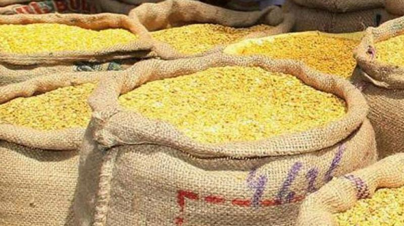 The Centre has disposed of around 7 lakh tonne of pulses so far from a buffer stock of 20.50 lakh tonne.
