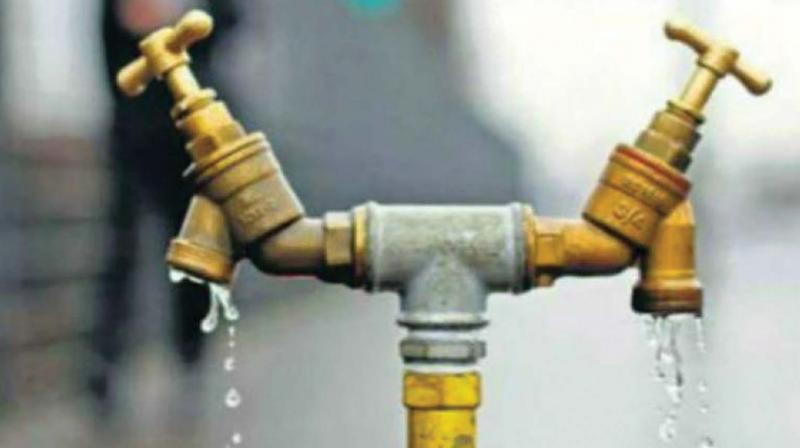 The cost of the wastage is in crores of rupees in a year. At one estimate, water can be supplied to another 5,000 households if water wastage is checked.