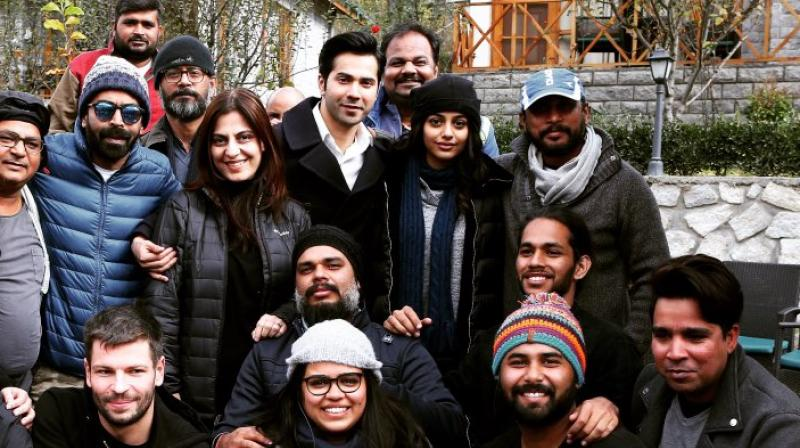 One of the pictures shared by Varun Dhawan on Twitter.