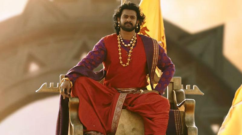 Prabhas in a still from 'Baahubali: The Conclusion.'